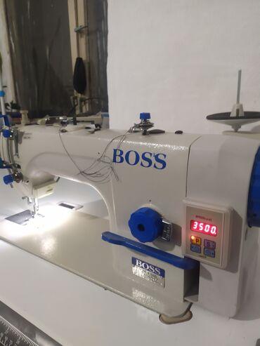 Бытовая техника - Кыргызстан: Швейная машинки Прямая строчка ПолуавтоматУшул жылы Мартта