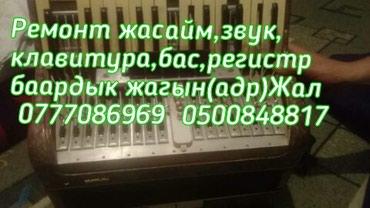 Аккордеон ремонт жасайм гарантия! в Бишкек