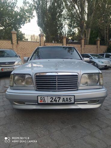 сидения мерседес в Кыргызстан: Mercedes-Benz W124 2.8 л. 1995 | 123456789 км