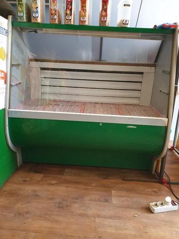 витринный холодильник купить в Кыргызстан: Горизонтальный витринный холодильник. Отлично работает. Высота 120см
