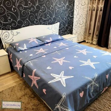 дешего в Кыргызстан: Продаю постельное белье Ткань 100% х/б (сатин) Не линяет, не