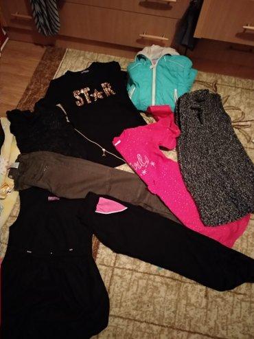 Za devojcicu VEL.10-12 PAKET BAS VELIKI odeca za jesen zimu NOVIH I KO - Pancevo