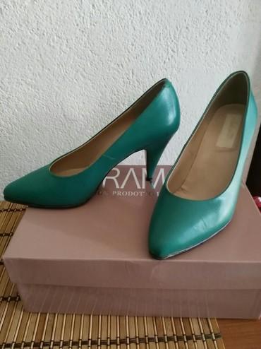 Italijanske kožne cipele, očuvane.Broj 38, ali je kalup za broj manji. - Zajecar