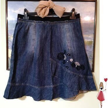Odd Molly texas suknja. Nema oštecenja. L vel.  U struku ima širu gumu