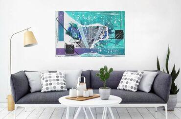 Kućni dekor - Sremski Karlovci: Umetnička slika Akril na platnu 60x40cm