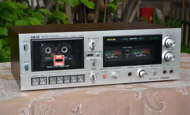 музыкальные центры в Кыргызстан: Продаю кассетную деку ( кассетный магнитофон) AKAI GX-735D редкий