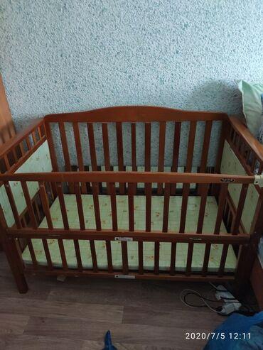 Кроватка детская + матрас Самовывоз Цена 1000