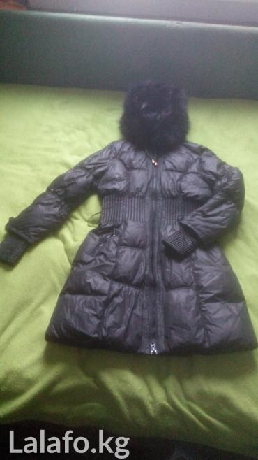 Куртка зимняя. пуховик. мех в Бишкек