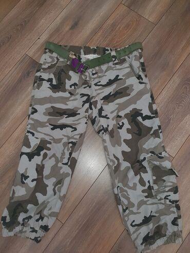 Крутые камуфляжные брюки из толстого, качественного хлопка. выглядят