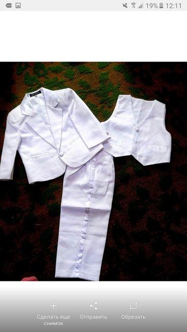 Новый костюм, не одевали, тройка на 1,5 годика в Сокулук