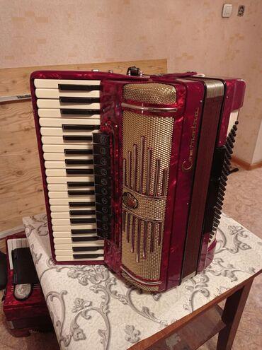 Аккордеоны - Бишкек: Немец аккордеону Контацино.Абалы идеально.жаны бойдон