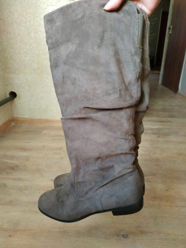 Сапоги женские демисезонные 40 размер(немного маломерят) новые в Бишкек