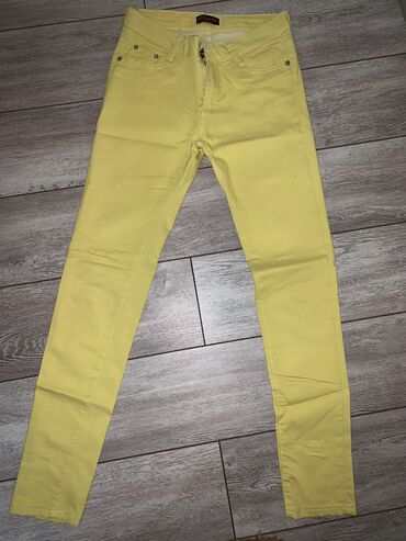 Pantalone nezno zute boje - Srbija: Hermes zute pantalone. Nosene dva puta-kao nove