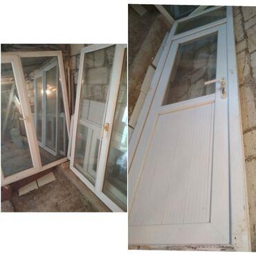Pəncərələr - Azərbaycan: Plastik pencere satilir. 1.20/1.60 olcude. Susesi guzguludu. Colden