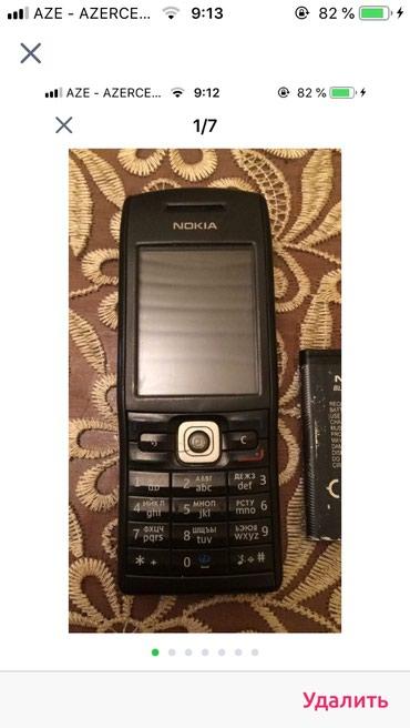 Bakı şəhərində Nokia e50 əla işlək telefon heç bir problemi yoxdur istəyən