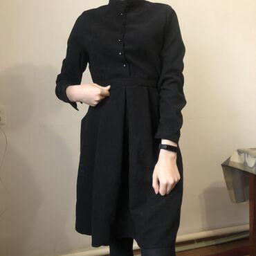 платье на повседневку в Кыргызстан: Милое чёрное платье на вечер или на повседневку. Размер стандарт, в от