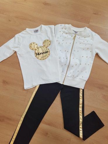 детская одежда качественная в Кыргызстан: Новая. Тройка костюм на 4 г и 9 лет. Турецкая тройка, качество