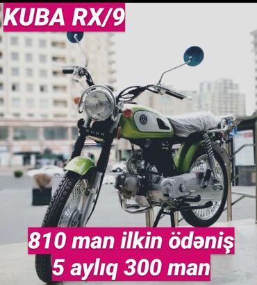 Moped və motorsikletlər sadəcə şəxsiyyət vəsiqəsi ilə kreditlə