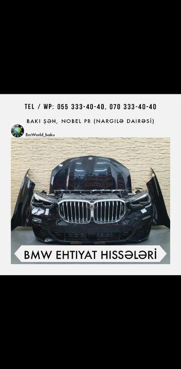 ehtiyat hisseleri telefon - Azərbaycan: BMW istenilen modder ucun ehtiyat hisseleri.Bufer, fara, qapi