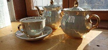 """продам шампунь в Кыргызстан: Продам чайный набор """"Перламутр"""" Набор на шесть персон (нет одного блюд"""
