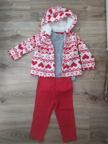 carters komplekty в Кыргызстан: Продаю костюм тройку от Carter's (оригинал). Состояние и качество
