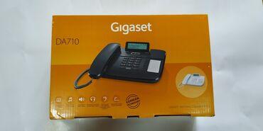Gigaset DA710 telefonlları nömrə yazandır rəngidə ağdır arginaldır