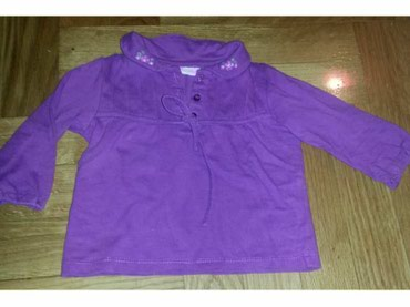 Etiketa-skinuta-mi - Srbija: Slatka majica za bebe. Pise 6-9 meseci, ali se moze nositi i do 12