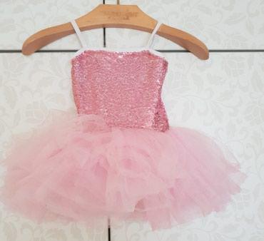 Prodajem baletsku haljinu i baletanke za devojcicu od 4 godine,jednom - Novi Sad