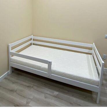 спальные кровати с матрасами в Кыргызстан: Детская кровать матрас новый в целлофане размер 160*80Продаем в связи