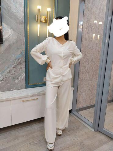 Женская одежда - Кыргызстан: Новая женская двойка, размер стандарт. Ткань мягкий трикотаж, очень ле