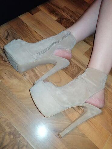 Ženska obuća | Pirot: Zenske sandale na visoku stiklu od 15cm, kao nove su, bez ikakvih