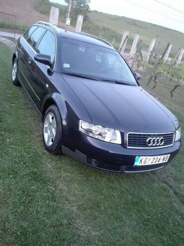 Audi | Srbija: Audi A4 1.9 l. 2002 | 246000 km