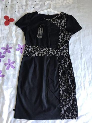черное платье турция в Кыргызстан: Платье с кружевами, новое, турция, размер 40