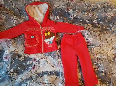 Продам костюмчик темно розового цвета размер примерно на 1,5-3 лет в з в Бишкек