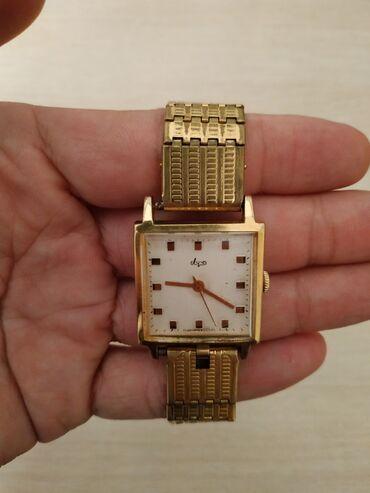 Позолоченные часы Луч, механические, СССР.Au-aurum. Состояние