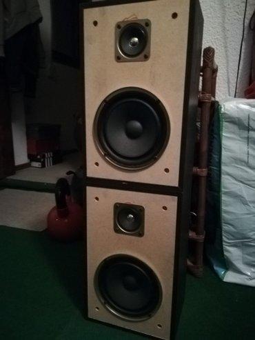 Muzicka-linija - Srbija: Prodajem odlične Sony dvosistemske zvučnike, drvene kutije, 60w-6-oma