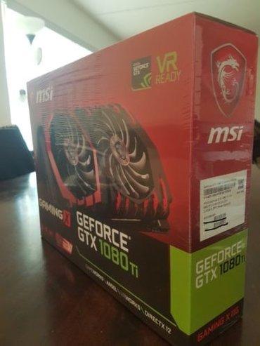 MSI GAMING GeForce GTX 1080 VR Ready 8GB DirectX 12 GeForce GTX 1080 в Бишкек