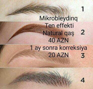 Dəb, sağlamlıq və gözəllik - Azərbaycan: Mikrobleydinq,ten effekti,natural qaş