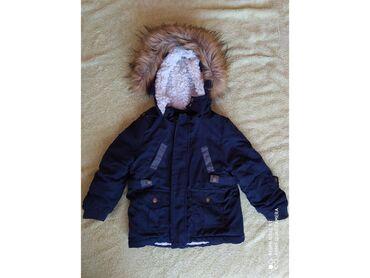 Decije zimske jakne - Srbija: Decija zimska jakna, placena 3500din, nosena jednu sezonu, vel. 80cm