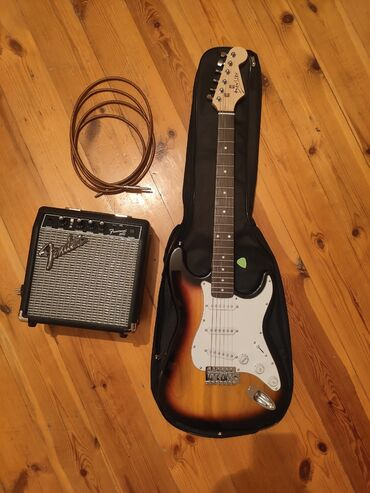aro 24 2 1 td - Azərbaycan: Elektrik Gitara Stratocaster + Fender Amplifier Frontman 10G + Kabel +