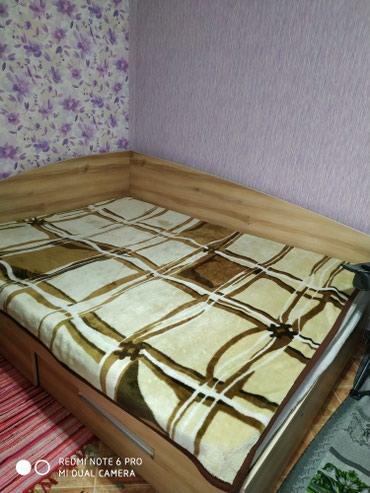 Кровать двухспальная угловая в Лебединовка