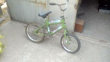 велосипед с детской коляской в Кыргызстан: Продам детский велосипед в хорошем состоянии! Цена 2500с Или меняю на