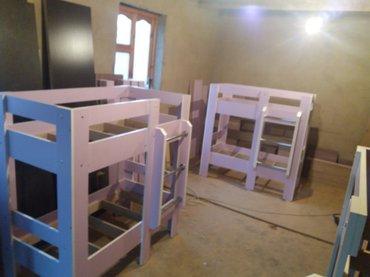 Двуяростные кровати на заказ. в Бишкек