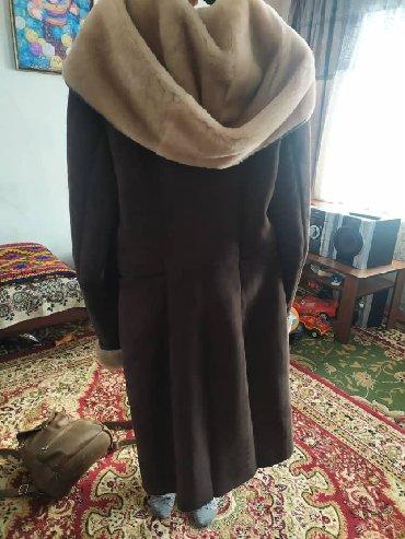 raz 46 в Кыргызстан: Дубленка натуральная обсолютно новая ни разу не одевала размер 46-48