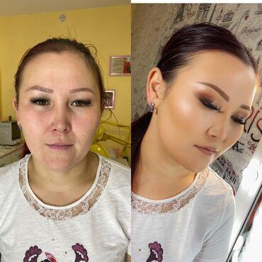 делаем макияж и причёску в Кыргызстан: Макияж Салон beauty flesh. В салоне и На выезд.Качественная косметика