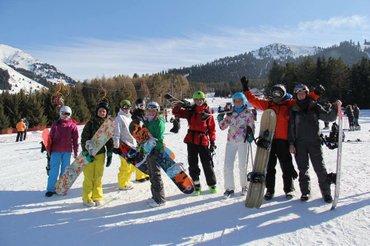 поехали с нами на выходных на горнолыжную базу каракол! включено: доро в Бишкек