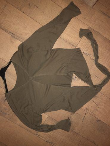 Zara bluza na vezanje pozadi. Napred klasicna  - Novi Pazar