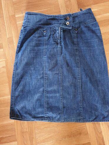 Struka teksas - Srbija: PS fashion suknja vel.36 tanak teksas bez elastina u odličnom stanju