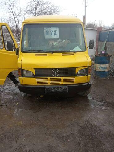 mercedes benz 814 в Кыргызстан: Mercedes Benz, самосвал+дубль кабина, объём 3 куб. Состояние нового