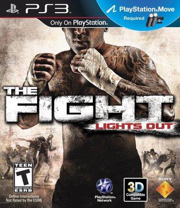 """Bakı şəhərində """"the fight"""" playstation 3"""